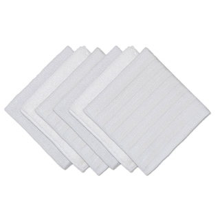White Scrub, Scour and Polish Cloths (Set of 6)