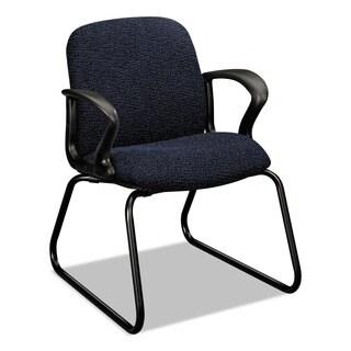 HON Gamut Series Black Sled Base Guest Chair
