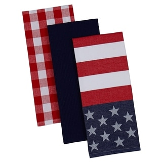 Red White & Blue Dishtowels (Set of 3)