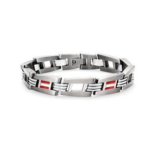 Tonino Lamborghini Corsa Stainless Steel Men's Bracelet
