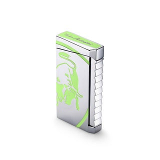Tonino Lamborghini Il Toro Torch Flame Lighter - Green (Ships Degassed)