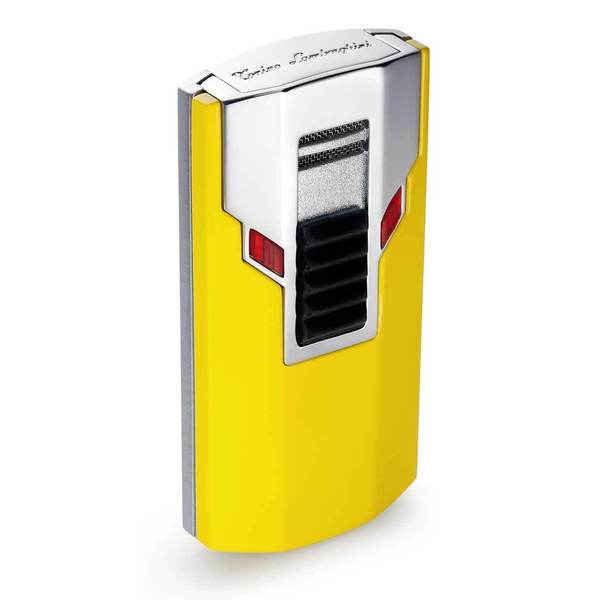 Tonino Lamborghini Estremo Yellow Torch Flame Lighter (Ships Degassed)