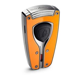 Tonino Lamborghini Forza Orange Lacquer Torch Flame Lighter (Ships Degassed)