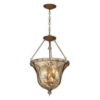 Elk Lighting Cheltham 4-Light Pendant In Mocha