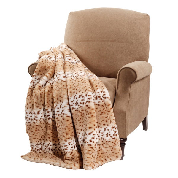 BOON Animal Faux Fur Throw