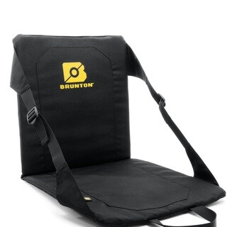 Brunton Fold Up Chair with USB Powered Heat Black
