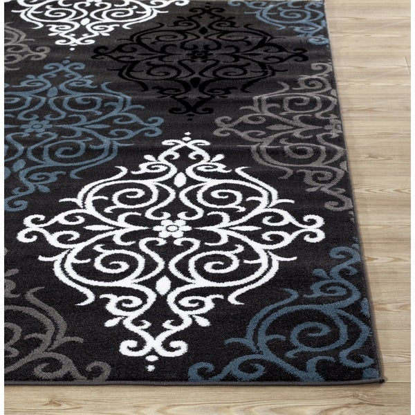 grey area rugs home depot and white canada modern transitional soft damask rug light 5x7