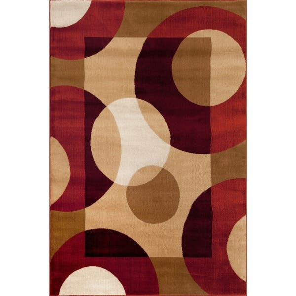 Modern Circles Area Rug Free Shipping On Orders Over