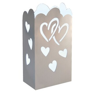 Paperboard Heart Lanterns (12 Count)