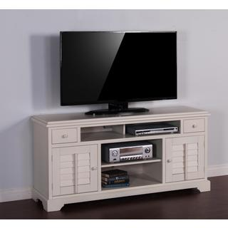 "Sunny Designs Vintage White 64"" Console"