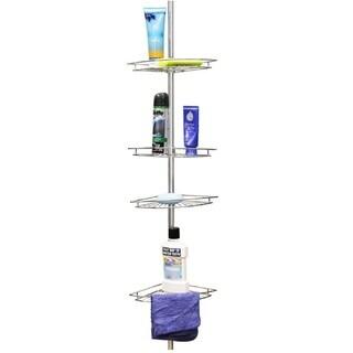 Home Basics 4-tier Corner Shelf Shower Caddy