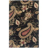 Rizzy Home Destiny Collection Hand-tufted Accent Rug (5' x 8') - 5' x 8'
