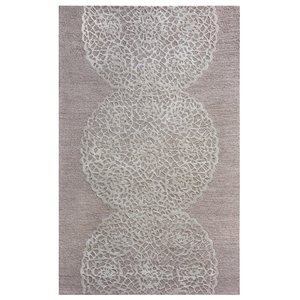 Shop Rizzy Home Transitional Light Brown Abstract
