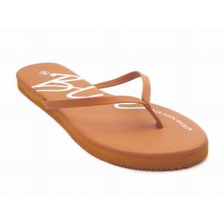 Blue Women's Quats Flip Flop Sandals