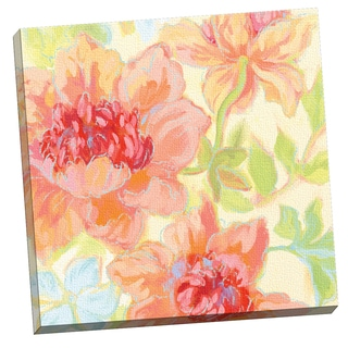 Portfolio Canvas Decor Garden Trio by Heather Craig 24x24, Framed and Stretched, Ready to Hang
