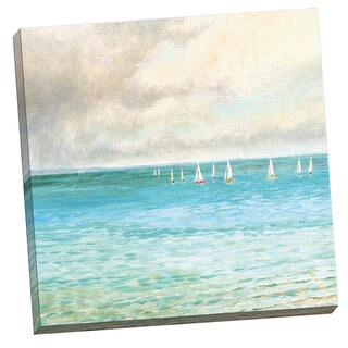 Portfolio Canvas Decor Change in Weather by Sandra Francis 24x24, Framed and Stretched, Ready to Han
