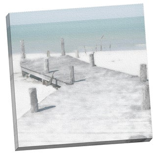 Portfolio Canvas Decor OLD JETTY by Noah Bay 24x24, Framed and Stretched, Ready to Hang