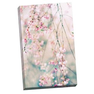 Portfolio Canvas Decor Jessica Jenney 'Weeping Cherry Blossoms ' Framed Canvas Wall Art