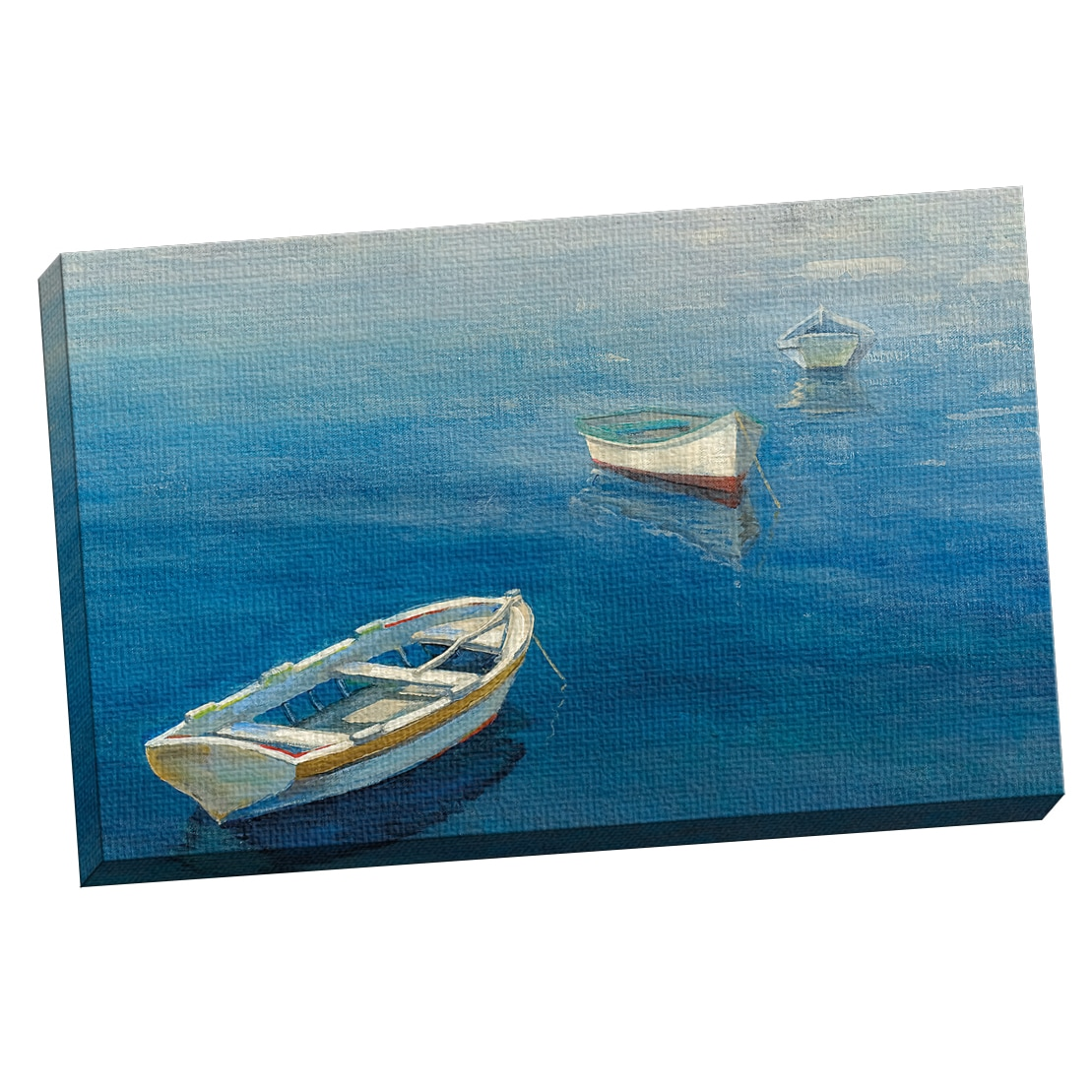 portfolio canvas decor michael longo rowboat trio horizo - Michaels Frames 24x36