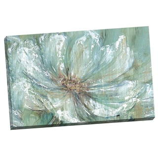 Portfolio Canvas Decor Carson 'TEAL SPLASH ' Framed Canvas Wall Art