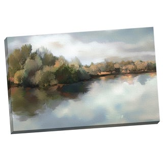 Portfolio Canvas Decor Sokol-Hohne 'Morning Impressions' Framed Canvas Wall Art
