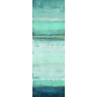 Portfolio Canvas Decor Elinor Luna 'Blue Crush I' Framed Canvas Wall Art (Set of 2)