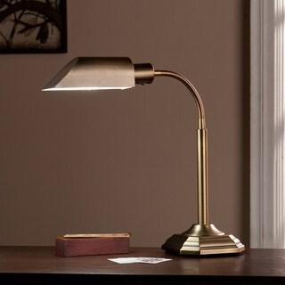Harper Blvd OttLite Honey Brass Hartley Task Table Lamp