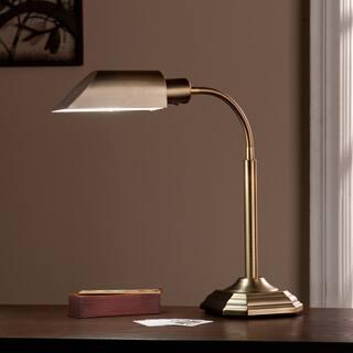 Harper Blvd OttLite Honey Brass Hartley Task Table Lamp|https://ak1.ostkcdn.com/images/products/10303414/P17416426.jpg?impolicy=medium