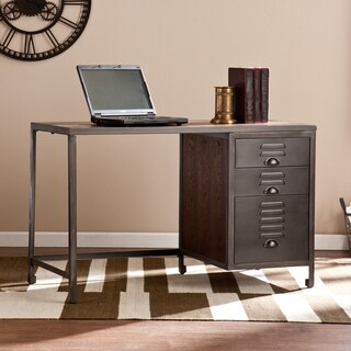 Harper Blvd Priscilla Wood and Metal File Desk