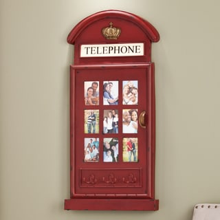Harper Blvd Darby Phone Booth Wall Mount Photo Frame