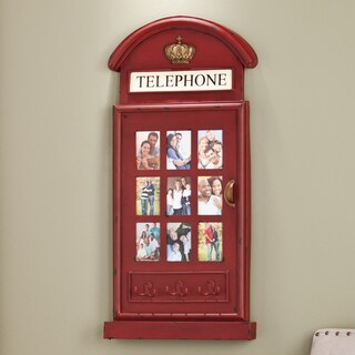 Upton Home Darby Phone Booth Wall Mount Photo Frame