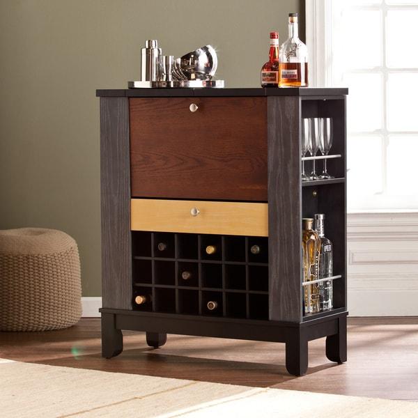 Damaged Kitchen Cabinets For Sale: Harper Blvd Avalon Wine/ Bar Cabinet