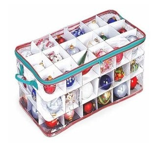 3-tier Clear Vinyl Ornament Chest