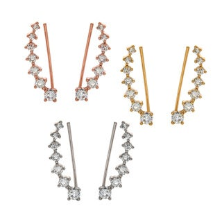 Eternally Haute Pave Cubic Zirconia Aries Ear Cuff Climbers|https://ak1.ostkcdn.com/images/products/10303564/P17416520.jpg?_ostk_perf_=percv&impolicy=medium