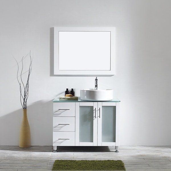 36 Inch Vanity With Vessel Sink
