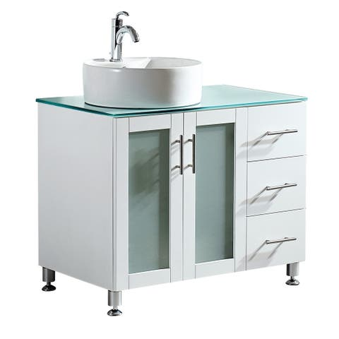 Buy Vessel Bathroom Vanities Vanity Cabinets Online At Overstock