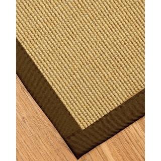 Handcrafted Monterrey Sisal Sage/ Khaki Rug (9' x 12') with Bonus Rug Pad