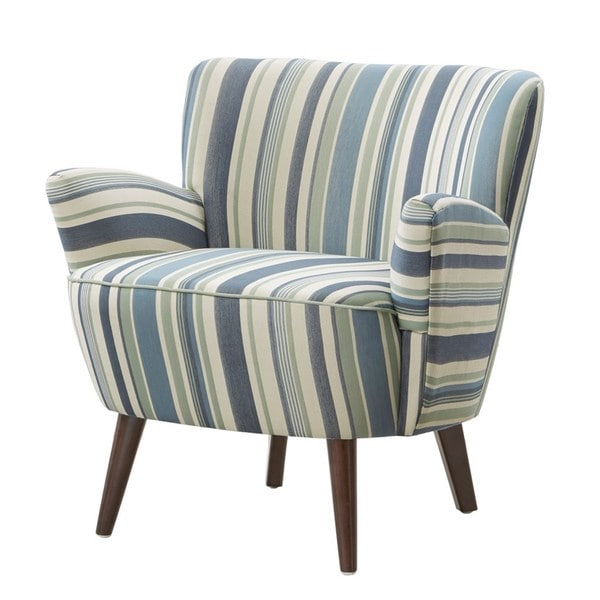 Shop Sophie Striped Accent Chair Free Shipping Today