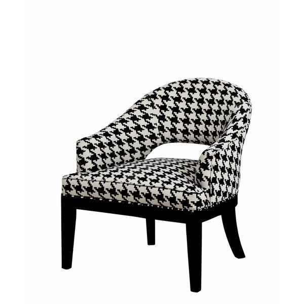 Shop Crystal Open Back Accent Chair Free Shipping Today