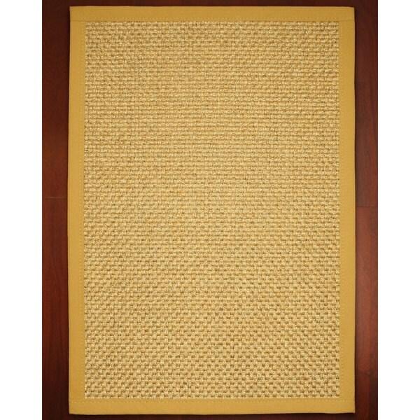 Handcrafted Amalfi Sisal Rug (5' x 8') with Bonus Rug Pad