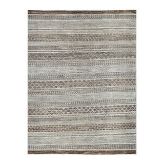 Herat Oriental Afghan Hand-knotted Tribal Vegetable Dye Gabbeh Gray/ Brown (5'10 x 7'9)