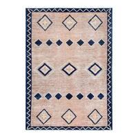 Herat Oriental Afghan Hand-knotted Tribal Vegetable Dye Gabbeh Wool Rug - 5'7 x 7'10