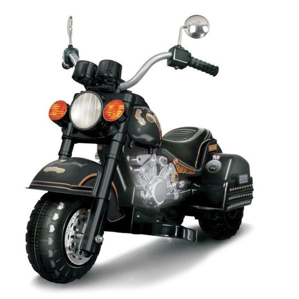 Harley Chopper Style Limited Edition Motorcycle Black