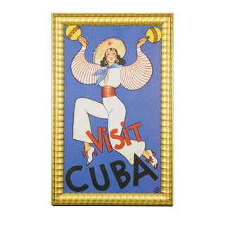 Framed Art - Cultural Authenticity, Visit Cuba