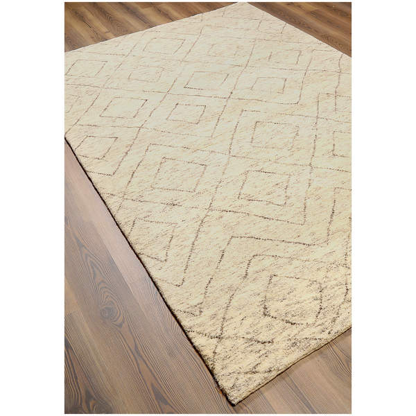 Shop ABC Accents Hand-knotted Moroccan Beni Ourain Double