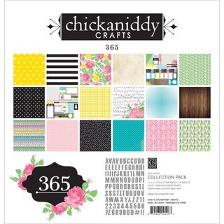 Chickaniddy Collection Pack 12inX12in 365