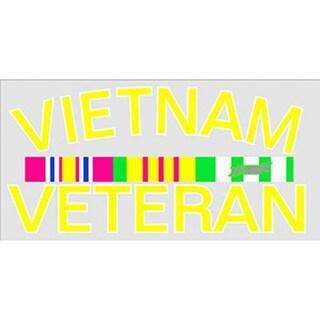 Vietnam Veteran Car Decal