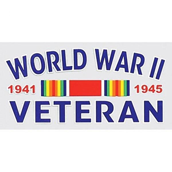 World War II Veteran Car Decal 15703884