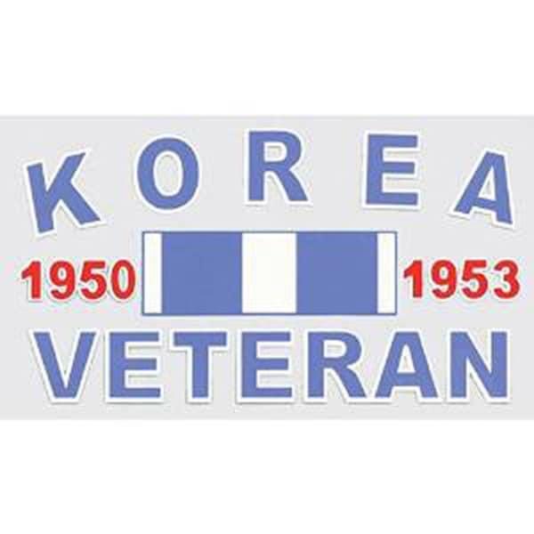 Korea Veteran Car Decal