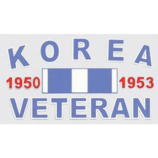 Korea Veteran Car Decal